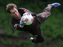 Neu beim FC St. Pauli: Torhüter Robin Himmelmann erhält einen Vertrag bis 2013.