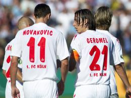 Stehen noch immer auf der Kölner gehaltsliste: Milivoje Novakovic und Pedro Geromel.