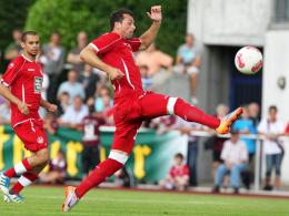 Treffsicher: Kaiserslauterns Neuzugang Albert Bunjaku erzielte das 2:0 gegen Fulham.