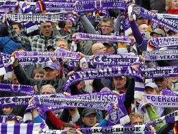 Fans von Erzgebirge Aue