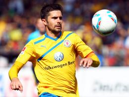 Alter und neuer Eintracht-Kapitän: Braunschweigs Mittelfeldspieler Dennis Kruppke.