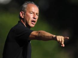 """Zuversichtlich: """"Löwen""""-Trainer Reiner Maurer lobt die Defensive des TSV 1860 München."""