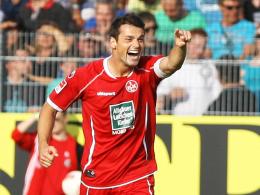 Doppelpack: Kaiserslauterns Neuzugang Albert Bunjaku avancierte in Aalen zum Matchwinner.