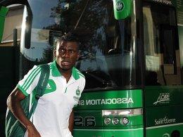 Häufig befahren ist die Strecke Frankreich - Dresden: Auch Lynel Kitambala kommt zu Dynamo.