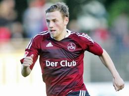 Für ein Jahr in Regensburg: Julian Wießmeier wird vom 1. FC Nürnberg an den SSV Jahn ausgeliehen.