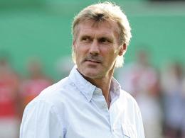 """""""Für mich passt alles zusammen"""": Trainer Rudi Bommer könnte schon bald in Cottbus verlängern."""