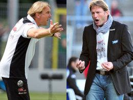 Gerd Dais (li.) und Ralph Hasenhüttl