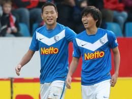 Chong Tese und Takashi Inui