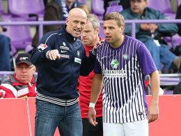 Coach Baumann und Kocer