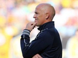 Aues Trainer Karsten Baumann