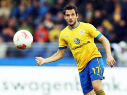 Operation unumgänglich: Braunschweigs Mittelfeldspieler Kevin Kratz kommt am Montag unters Messer.