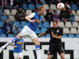 Lukas Sinkiewicz leitete mit seinem Kopfballtor gegen Cottbus die Wende ein.