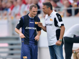 Kohlmann mit Coach Neuhaus