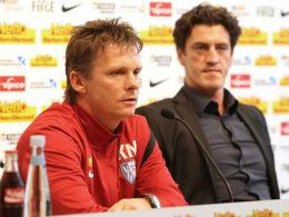 Karsten Neitzel (l.) und Jens Todt