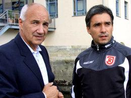 Gerber und Oscar Corrochano