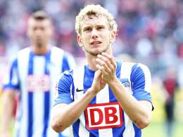 Aggressiv im Zweikampf, gut in der Spieleröffnung: Fabian Lustenberger besticht bei Hertha BSC als Abwehrchef.