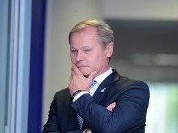 Sorgenvolle Miene bei MSV-Geschäftsführer Roland Kentsch: Ist der Verein noch zu retten?