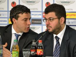 Hamada Iraki und Hasan Ismaik