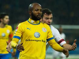 Goalgetter: Braunschweigs Angreifer Domi Kumbela erzielte schon acht Saisontreffer.