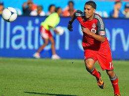 Stammspieler beim FC Toronto, Gastspieler beim FSV Frankfurt: Luis Silva.