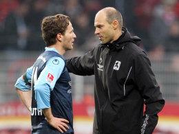 Benny Lauth und Alexander Schmidt (re.)
