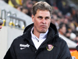 Unzufrieden: Für Dresdens Trainer Ralf Loose sind nicht nur die Platzverweise Grund für die Misere.