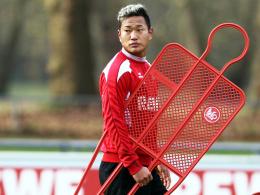 Abflug nach Südkorea? Kölns Mittelstürmer Chong Tese ist nur Angreifer Nummer vier.