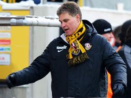 Die Zeit ist abgelaufen: Ralf Loose wurde als Trainer von Dynamo Dresden beurlaubt.