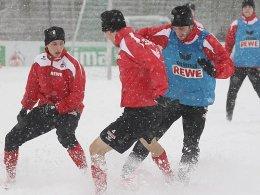 Im Schneetreiben zum Heimdreier? Der FC benötigt dringend einen Sieg.