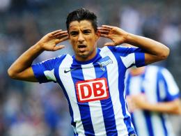 """""""Ich habe in Berlin eine Mission"""": Hertha-Angreifer Sami Allagui verzichtet auf den Afrika-Cup."""