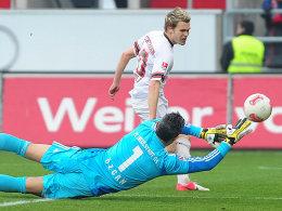 Zu Unrecht aberkannt: Christopher Buchtmanns Treffer gegen Ingolstadt.
