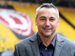 Klares Ziel: Dresdens neuer Trainer Peter Pacult will die verlorene Heimstärke wieder herstellen.