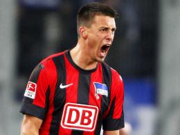 Fühlt sich wohl in Berlin: Sandro Wagner ist vom Aufstieg der Hertha fest überzeugt.