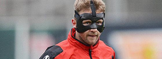 Die Maske ist ab: Unions Björn Kopplin hat seinen Nasenbeinbruch auskuriert.