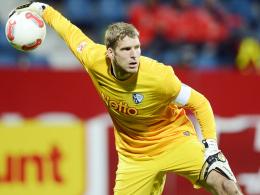 Meniskusverletzung überstanden: Bochums Torhüter Andreas Luthe war beim Trainingsauftakt wieder dabei.