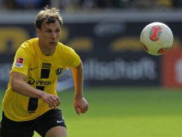 Kam rein und traf: Tobias Jänicke sorgte für den Testspielsieg über Darmstadt.