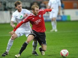 Freut sich über Erfolgserlebnis: Moritz Hartmann will in der Rückrunde wieder angreifen.