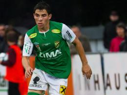 Von Österreich nach Oberbayern: Danilo Teodoro Soares wechselt im Sommer nach Ingolstadt.