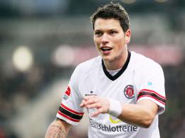 Matchwinner: St. Paulis Daniel Ginczek erzielte das vorentscheidende 2:0.