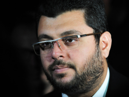 """""""Ich war sehr enttäuscht"""": Der arabische Investor der Münchner """"Löwen"""", Hasan Ismaik."""