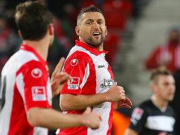 Der Unioner Mattuschka traf gegen Sandhausen zum zwischenzeitlichen 2:0.