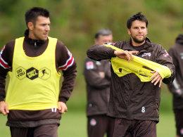 Florian Bruns (re.) und Fabian Boll