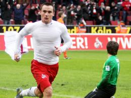 Dynamisch und schussstark: Kölns Christian Clemens wird zum Schlüsselspieler.