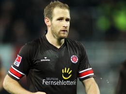 Steht wohl am Sonntag im Kader: St. Paulis Florian Kringe.