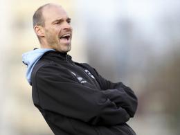 Der kurzfristige Erfolg blieb aus: 1860 Münchens Trainer Alexander Schmidt.