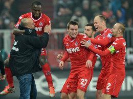 Stanislawski freut sich mit dem Team