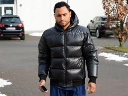 Nie mehr im MSV-Profitrikot? Antonio da Silva nach der Unterredung mit Duisburgs Manager Ivica Grlic.
