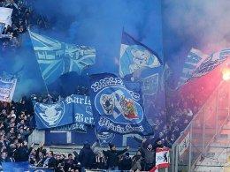 Fans von Hertha BSC