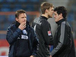 Karsten Neitzel, Andreas Luthe und Jens Todt