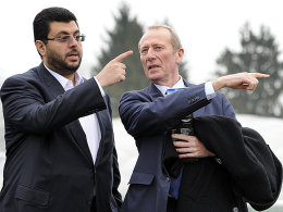 Hasan Ismaik und Hep Monatzeder
